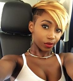Cute cut! @itgirl.kkouture | #thecutlife #shorthair #haircolor #selfie #stunner ✂️