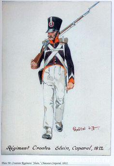 Caporale di un rgt. di fanteria croata