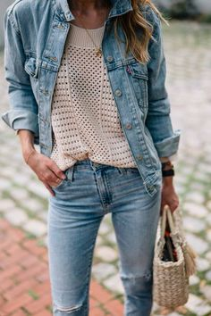 It can be tricky, but if you follow a few simple steps you're almost guaranteed to learn how to style denim on denim this summer like a pro.