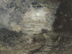 Le Prince Lointain: Alexander Helwig Wyant (1836-1892), Moonlight and ...