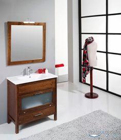 mueble de bao tavira con un diseo original y prctico con dos cajones y fabricado