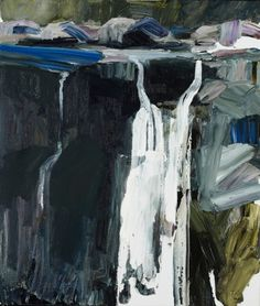 2012 More paintings from no man's land — Guy Maestri Pastel Landscape, Abstract Landscape Painting, Landscape Drawings, Seascape Paintings, Landscape Art, Landscape Paintings, Abstract Art, Landscapes, Contemporary Landscape