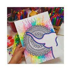 . #anamandalas #art #mandala #mandalas #mandalaart #doodle #doodles #zendala #zendoodle #zenart #arte #zentangle #zentagle #zentangleart #zentagleart #zentanglecondani #zentaglecondani #geometrizacion #zendoodle #zendala #abstract #abstracto #zendoodle #trazos #tribal #marker #sharpie #colour #zentangleartist #zentagleartist #flower #trazos #mandalaflower #elefante