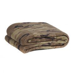 Camouflage Oversized Throw Blanket