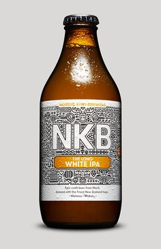 Nordic Kiwi Brewers designed by Nathan Parker // Lovely Package