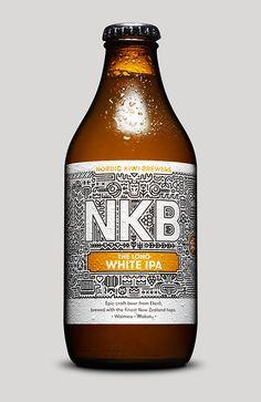 Nordic Kiwi Brewers designed by Nathan Parker // Lovely Package Beer Packaging, Packaging Design, Pretty Packaging, Home Brewing, Beer Brewing, Beer Specials, Malt Beer, Beer Art, Beers Of The World
