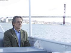 Jeremy Irons in Lisbon, Portugal Night Train to Lisbon
