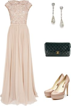 """""""Dreamy Dress"""" by maria-riveron on Polyvore"""