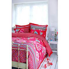 Buy PiP Studio Chinoise Duvet Cover and Pillowcase Set, Pink online at JohnLewis.com - John Lewis