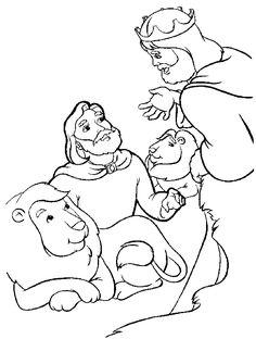 Daniel coloring page