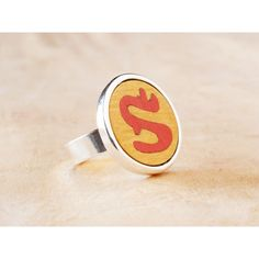 Silver plated & Wood Inlay. 32€