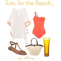 """""""Tunic for the Beach"""" by thelifeoftheparty on Polyvore"""