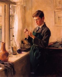 Henry, the Artist's Eldest Son, 1915, Philip Alexius de László