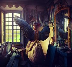 Gorgeously Surreal Scenes Shot in a French Chateau - My Modern Metropolis