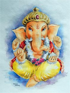 Paintings by Sanika Dhanorkar - Lord Ganesha