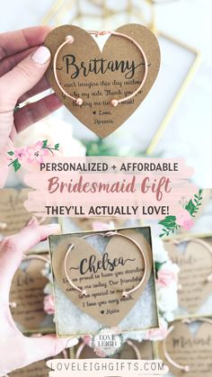 Give your bridesmaids a gift they'll love! Personalized bridesmaids gifts! These affordable bridesmaid gifts and bridesmaid jewelry ideas. Bridal party gifts to complete your dream wedding. Perfect bridesmaids proposal that is sure to be a statement in your wedding! DIY Bridesmaid gift. Bridesmaid gift box. Bridesmaid proposal box. Bridal Party Gift Ideas. #weddings #wedding #bride #bridesmaidideas #bridesmaidgiftideas #bridesmaidgift #bridalparty #bridesmaidproposal #bridesmaidpartygift Bridesmaid Gift Boxes, Bridesmaid Proposal Box, Wedding Gifts For Bridesmaids, Personalized Bridesmaid Gifts, Gifts For Wedding Party, Bridesmaid Jewelry, Party Gifts, Wedding Bride, Wedding Ideas