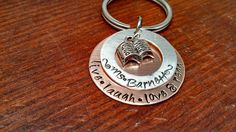 Handstamped Personalized copper/sterling by ByalittlebitofFaith, $20.00