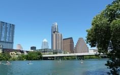 Austin, Texas: my home town, and where the tallest building in town is condos!