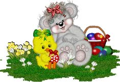 Animated Gif by Teedy Bear, Bear Gif, Bear Images, Bear Pictures, Happy Birthday Png, Birthday Gifs, Easter Wallpaper, Photo Frame Design, Bear Graphic