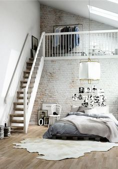 Dream loft situation.