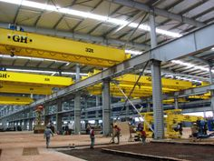 Steel Structure, Halle, Crane, Brazil, Steel Frame, Hall