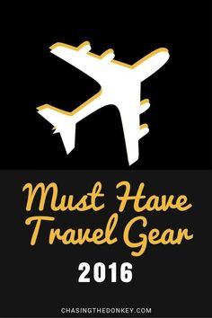 Our Guide to Travel Necessities - what you need to take with you when you go travelling - it's all right here.