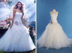 Vestido inspirado na princesa aurora