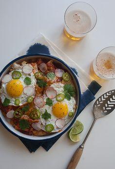 Chilaquiles | www.acozykitchen.com