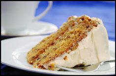 Hot Dish: Best Ever Banana Cake With Cream Cheese Frosting