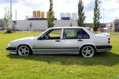 Volvo 940 Sedan Silver