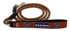 Houston Texans Football Leather Leash - L