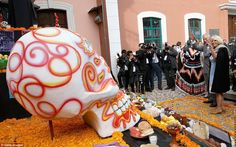 The Day of the Dead is a major event in the Mexican calendar  when families pay tribute to loved ones who have died