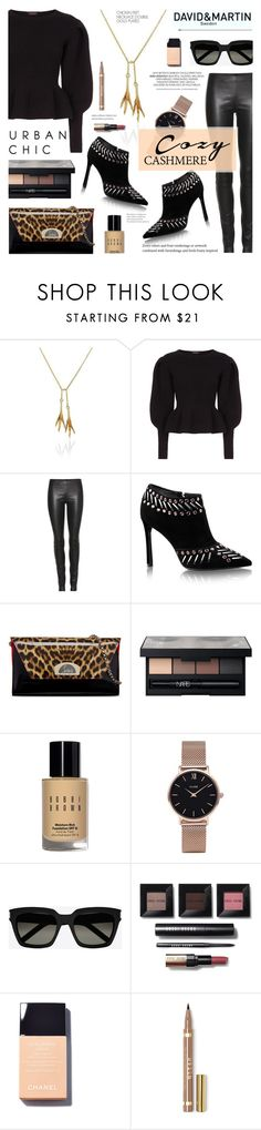 """""""David and Martin Jewelry 1"""" by anyasdesigns ❤ liked on Polyvore featuring Burberry, The Row, Christian Louboutin, NARS Cosmetics, Bobbi Brown Cosmetics, CLUSE and Yves Saint Laurent"""