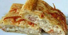 Για τους λάτρες της κοτόπιτας.. Αγαπημένη συνταγή.. Καλή σας απόλαυση Υλικά 4 φιλέτα κοτόπουλου (2 μπούτι, 2 στήθος) ή 1 μέτριο κοτόπ...