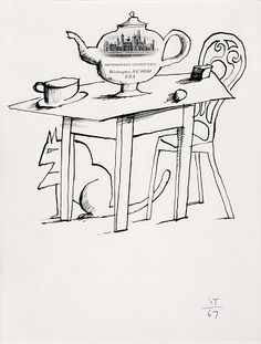 (Untitled) by Saul Steinberg / American Art