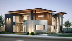 Modern Residence at Zira, Punjab by JV Studio