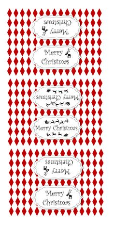 FREE printable DIY Christmas treat bag toppers