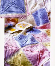 Crochet Knitting Handicraft: Blankets