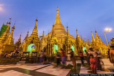 """Myanmar Myanmar's tourism industry is """"red-hot:"""" just about 300,000 people visited the country in 2010, but three years later, that number had ballooned to over 2 million tourists. Before prices catch up with you, go ride a boat on Inle Lake, explore a dark cave pagoda, and catch the sunset reflecting off Shwedagon Paya."""