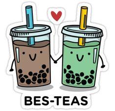Tea quotes, captions and memes Funny Doodles, Kawaii Doodles, Cute Doodles, Funny Food Puns, Punny Puns, Food Jokes, Jokes Kids, Cute Food Drawings, Easy Drawings
