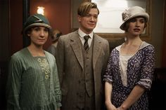 Anna, Jimmy, and Lady Rose. #DowntonAbbey #Season4 Sneak Peek.