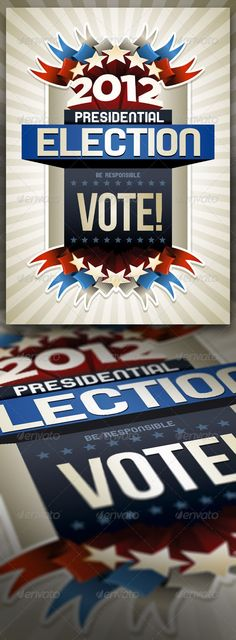 2012 american presidential election poster