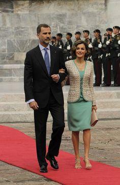 Queen Letizia in Felipe Varela Summer 2015 - Official visit to Mexico, Los Ninos Heroes monument, June 2015