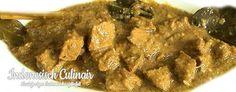 Babi Usee-Usee - Gebakken varkensvlees in kokosmelksaus - Fried pork in coconut milk