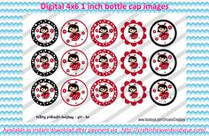 "1"" Bottle Caps m2m ladybug girl bottle cap  BCI RIBBON MATCHES M2M BOTTLE CAP IMAGES #M2M #bottlecapimages #bottlecap #BCI #shrinkydinkimages #bowcenters #hairbows #bowmaking #ironon #printables #printyourself #digitaltransfer #doityourself #transfer #ribbongraphics #ribbon #shirtprint #tshirt #digitalart #diy #digital #graphicdesign please purchase via link  http://craftinheavenboutique.com/index.php?main_page=index&cPath=323_533_42_51"