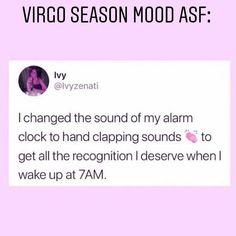 Funny Virgo Quotes, Virgo Memes, Zodiac Memes, Virgo Facts, Zodiac Signs Virgo, Zodiac Star Signs, Zodiac Art, Capricorn, Virgo Personality