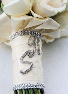 41 Wedding Bouquet Handles And Holders   HappyWedd.com