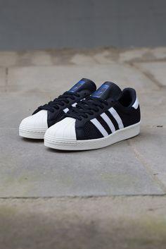 adidas Originals Superstar 80s Mesh | Black & White