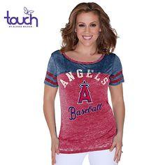 Los Angeles Angels of Anaheim Women's Morgan Tee touch™ by alyssa milano - MLB.com Shop