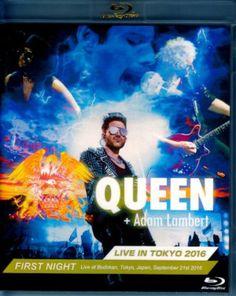 Queen, Adam Lambert Queen / Live in Tokyo, Japan 9.21.2016 BRD Version